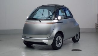 The mini microlino city car will go into production