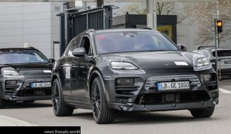Electric Porsche Macan: The first prototypes hit the road