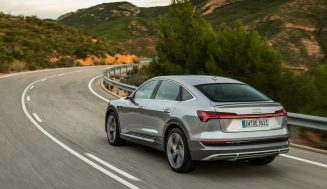 Audi e-tron: An electric SUV offering all-wheel drive